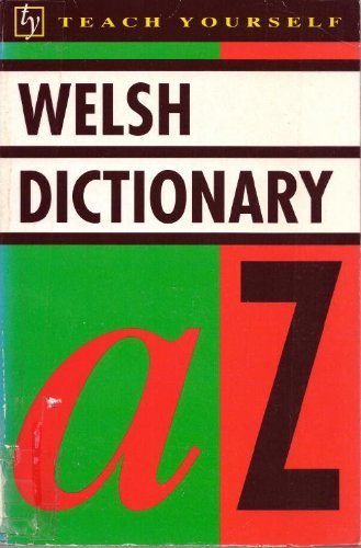 9780844238425: Welsh Dictionary (Teach Yourself)