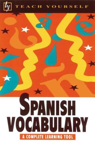 9780844239866: Teach Yourself Spanish Vocabulary