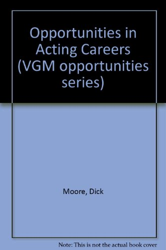 9780844240244: Opportunities in Acting Careers (Opportunities Inseries)