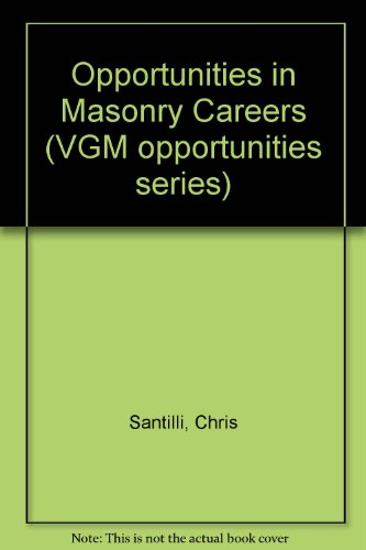 9780844240664: Opportunities in Masonry Careers