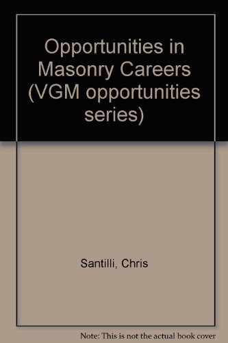 9780844240671: Opportunities in Masonry Careers