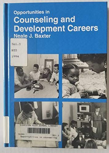 9780844240978: Opportunities in Counseling and Development Careers (Vgm Opportunities)