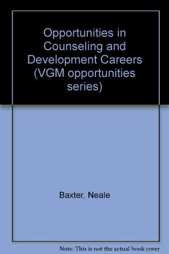 9780844240985: Opportunities in Counseling and Development Careers (Vgm Opportunities)