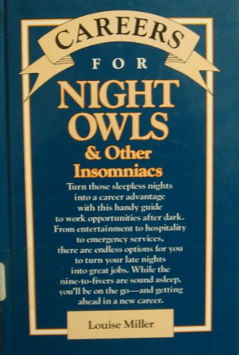 9780844241159: Careers for Night Owls & Other Insomniacs (VGM Careers for You)