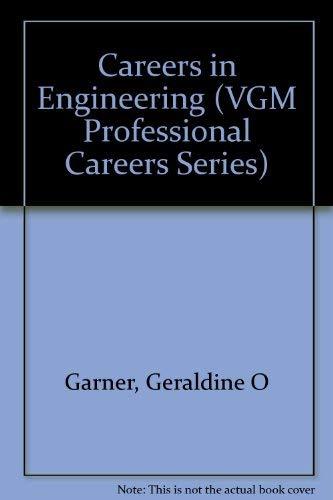 9780844241845: Careers in Engineering (Vgm Professional Careers Series)