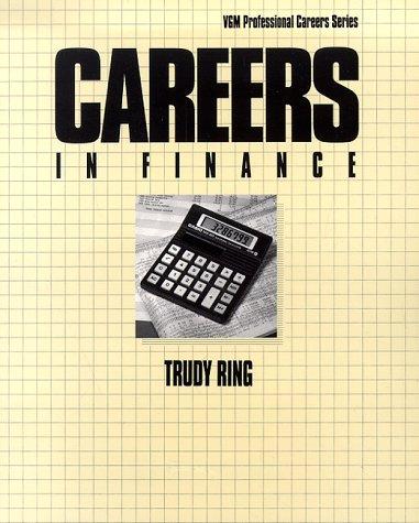 9780844241876: Careers in Finance (Vgm Professional Careers Series)