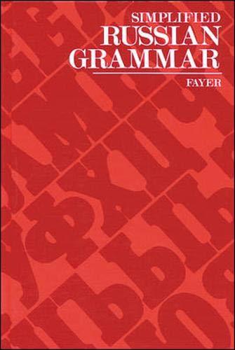 9780844242316: Simplified Russian Grammar