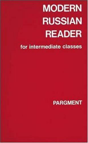 9780844242408: Modern Russian Reader For Int Classes