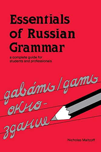 9780844242446: Essentials of Russian Grammar: A Complete Guide for Students and Professionals (English and Russian Edition)