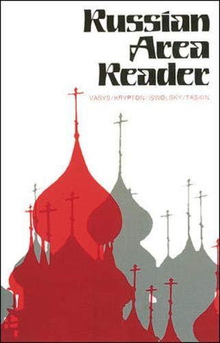 Russian Area Reader (NTC Russian): Vasys, Anthony; Krypton,