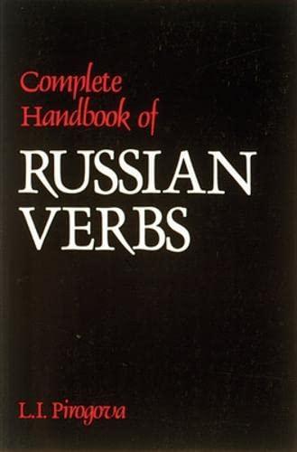 9780844242705: Complete Handbook of Russian Verbs