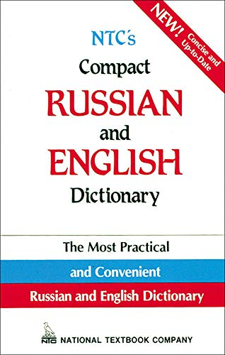 9780844242842: NTC's Compact Russian and English Dictionary