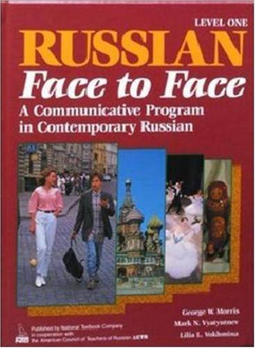 9780844243009: Russian Face to Face, Book 1, Student Edition