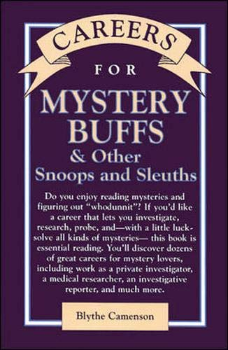 9780844243313: Careers for Mystery Buffs & Other Snoops And Sleuths (Careers for Series)