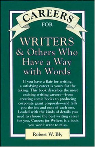 9780844243337: Careers for Writers & Others Who Have a Way With Words (Vgm Careers for You Series)