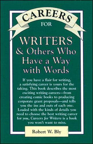 9780844243344: Careers for Writers & Others Who Have a Way With Words (Vgm Careers for You Series (Paper))