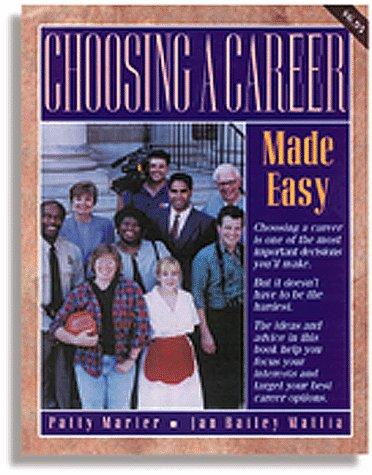 9780844243436: Choosing a Career Made Easy (Made Easy Series)