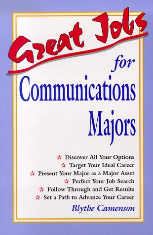 9780844243559: Great Jobs for Communications Majors (Vgm's Great Jobs Series)