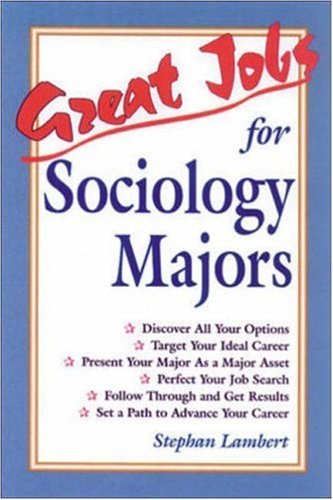 9780844243580: Great Jobs for Sociology Majors