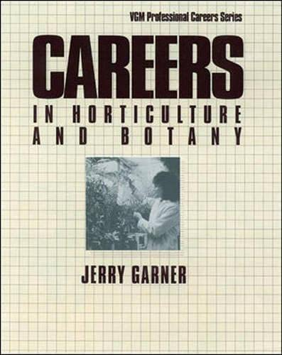 9780844244587: Careers in Horticulture and Botany (Vgm Profressional Careers Series)