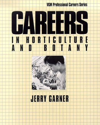 9780844244594: Careers in Horticulture and Botany