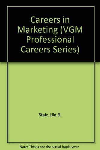9780844244648: Careers in Marketing (Vgm Professional Career)
