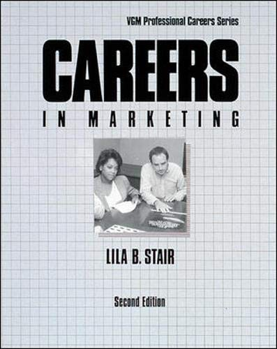 9780844244655: Careers in Marketing (Vgm Professional Careers)