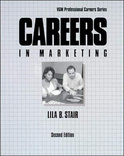9780844244655: Careers in Marketing (Vgm Professional Careers)
