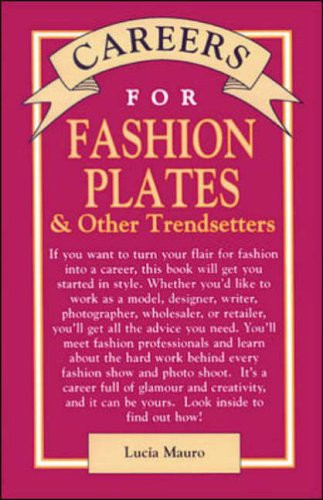 9780844244785: Careers for Fashion Plates & Other Trendsetters (Vgm Careers for You Series (Paper))