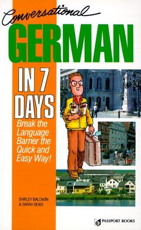 9780844244846: Conversational German in 7 Days