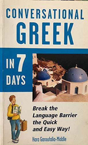 9780844245034: Conversational Greek in 7 Days