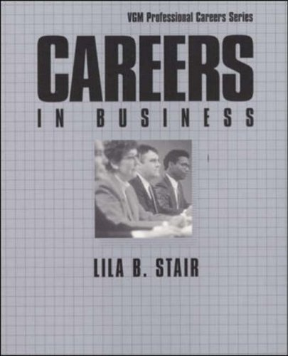 9780844245065: Careers in Business (McGraw-Hill Professional Careers)