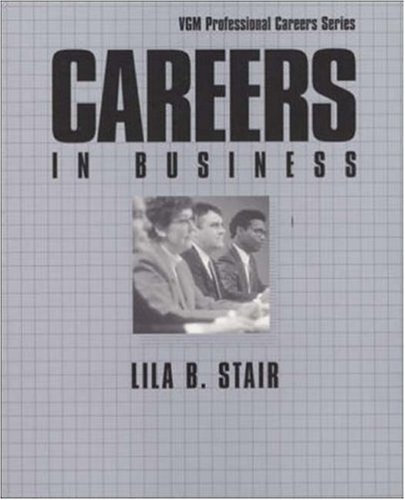 9780844245065: Careers in Business (Vgm Professional Careers Series)