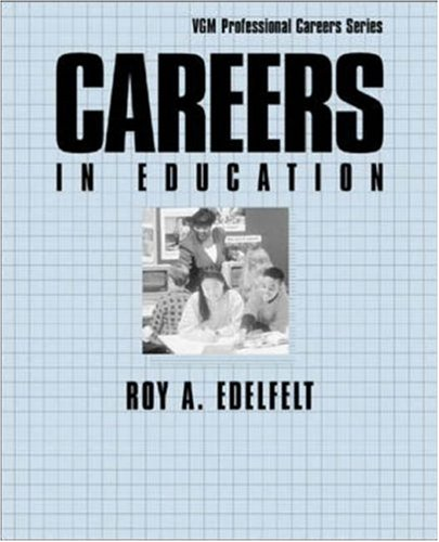 9780844245126: Careers in Education (McGraw-Hill Professional Careers)