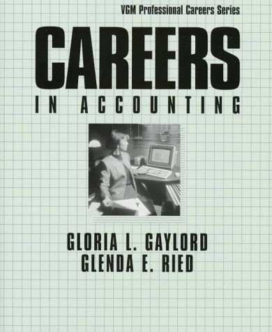 9780844245133: Careers in Accounting (Vgm Professional Careers Series)