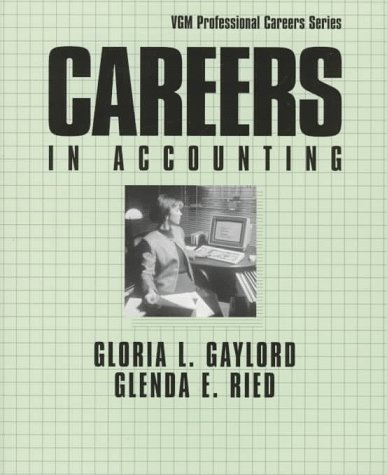 9780844245140: Careers in Accounting (Professional Career Series)