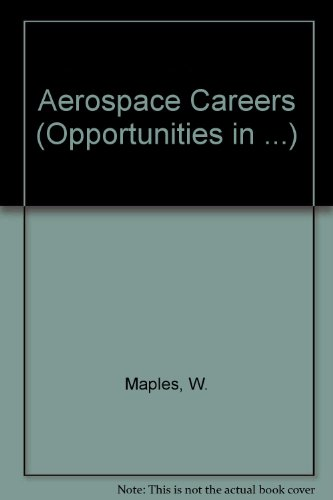 9780844245799: Opportunities in Aerospace Careers (Vgm Opportunities Series (Paper))