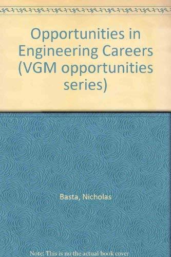 9780844245928: Opportunities in Engineering Careers (Vgm Opportunities)