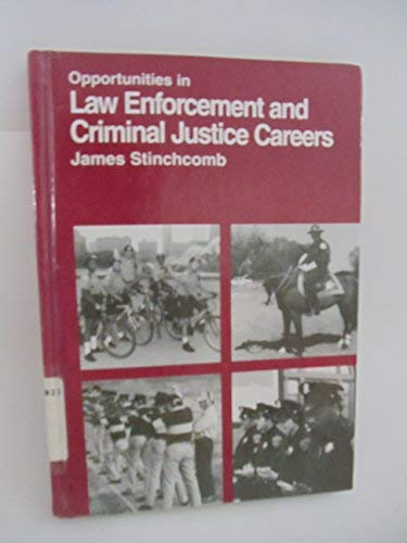 9780844246086: Opportunities in Law Enforcement and Criminal Justice Careers