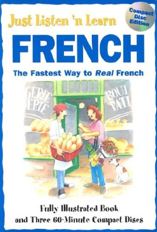 9780844246314: Just Listen 'N Learn French