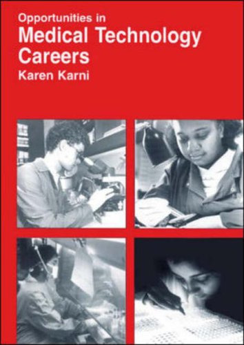 9780844246383: Opportunities in Medical Technology Careers: Clinical Laboratory Science (Opportunities in Series)
