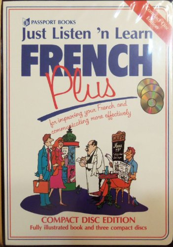 9780844246451: Just Listen 'N Learn French Plus (English and French Edition)
