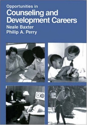 9780844246895: Opportunities in Counseling and Development Careers