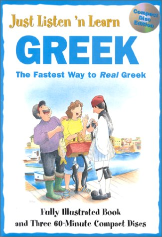 9780844246932: Just Listen N Learn Greek CD Pack
