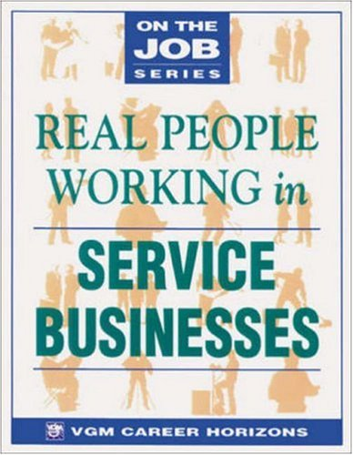 Real People Working in Service Businesses: Blythe Camenson