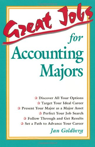 9780844247441: Great Jobs for Accounting Majors
