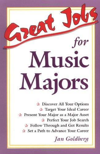 9780844247458: Great Jobs for Music Majors