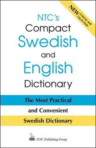9780844249605: Ntc's Compact Swedish and English Dictionary (English and Swedish Edition)