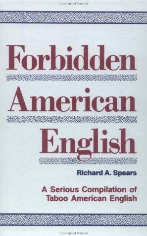 9780844251493: Forbidden American English