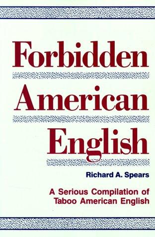 9780844251523: Forbidden American English